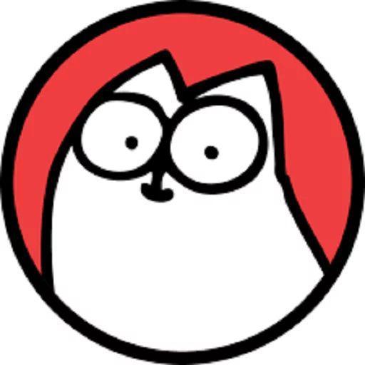 دانلود استیکر تلگرام گربه Simon's Cat 2