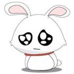 استیکر خرگوش خنده دار برای تلگرام Fun Bunny