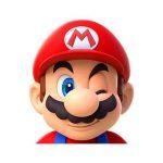 دانلود استیکر تلگرام قارچ خور Mario Run